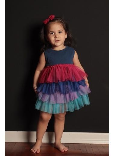 Colorinas Rainbow Baby Elbise İndigo İndigo